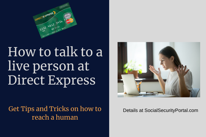 """""""How to Contact a live person at Direct Express"""""""