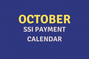 """October 2020 SSI Payment Schedule"""