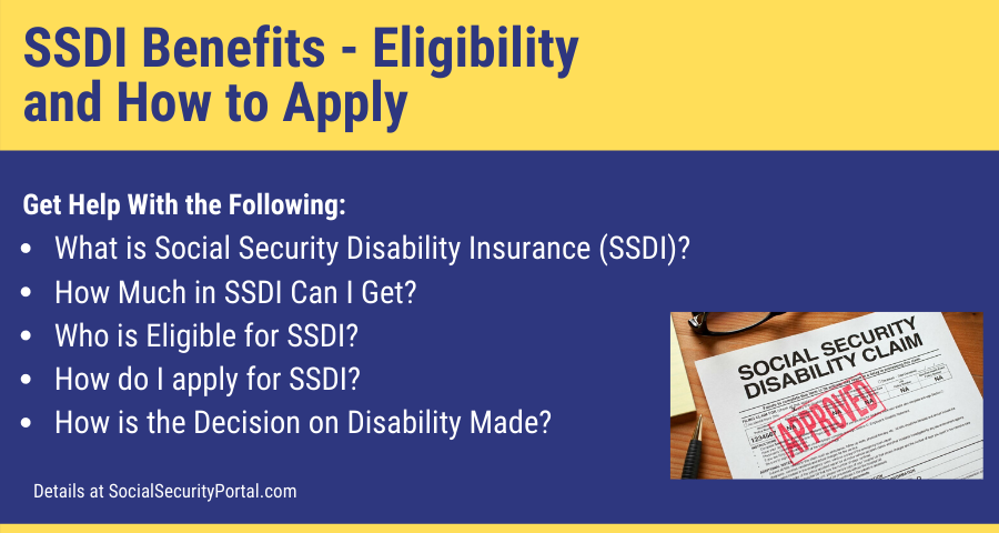 """""""SSDI Benefits Eligibility and How to Apply"""""""